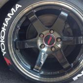不明 YOKOHAMA ADVAN タイヤレター