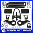 "TORCH OFF ROAD 3"" + 2"" Leveling Lift Kit 2011-2019  Silverado 2500HD"