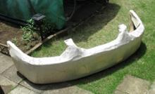 ローレル日産(純正) フロントバンパーの単体画像
