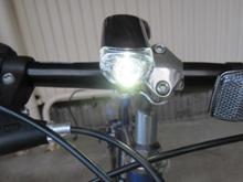 クロス自転車CAT EYE URBAN HL-EL145の全体画像