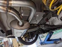 ジュリエッタUlter Sport Electric Valve Exhaust Systemの全体画像