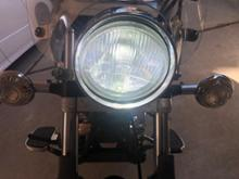 ドラッグスター125ノーブランド LEDヘッドライトの全体画像