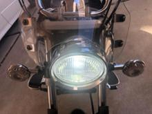 ドラッグスター125ノーブランド LEDヘッドライトの単体画像