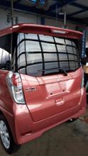 eKスペース三菱自動車(純正) ディーラーオプション ルーフスポイラーの全体画像