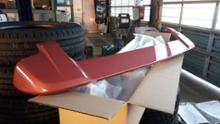 eKスペース三菱自動車(純正) ディーラーオプション ルーフスポイラーの単体画像