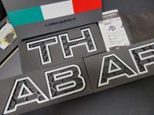 アバルト・595C (カブリオレ)イブデザイン ロゴインパクトの全体画像