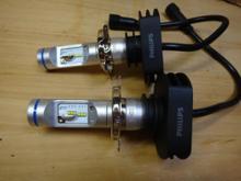 デリカスペースギアPHILIPS / X-treme Ultinon LED H4 6200K HaedLight x2の全体画像