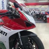Ducati performance 1199用カーボンフロントフェンダー