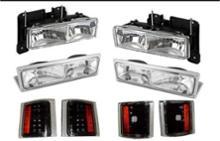 サバーバンSONAR(ライト関連) クリスタルヘッドライトの単体画像