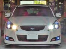 レガシィツーリングワゴン日本ライティング Nihon Lighting LEDヘッドライトシリーズの全体画像