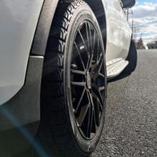 GLCクラス PHVタイヤ・ホイール 1/10X RSF Black Editionの単体画像