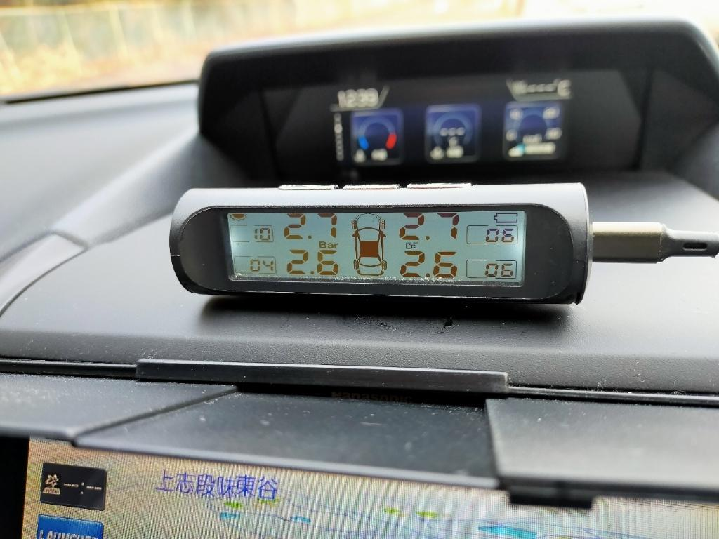 Car & Motorcycle DVR Store TPMSタイヤ空気圧監視警報システム
