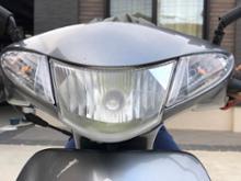 アドレスV50楽天製 LEDヘッドライトの単体画像