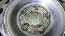 ミディアムクラス セダンメルセデス・ベンツ(純正) W124純正鉄ホイールの全体画像