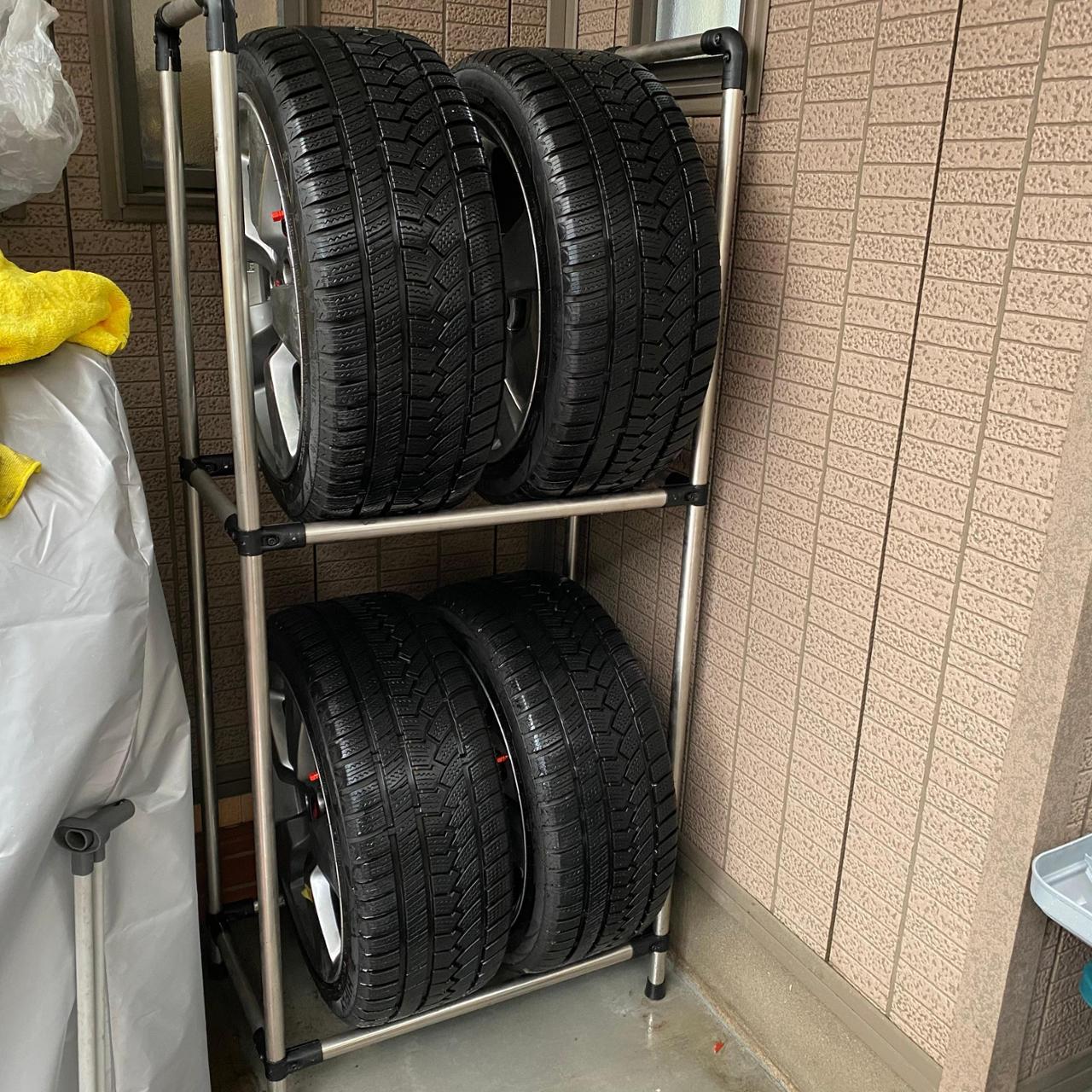 MAKA タイヤラック タイプ3 サイズ1550×1000×400