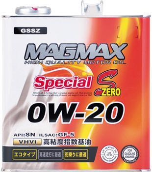 MAGMAX Special S Zero 0W-20