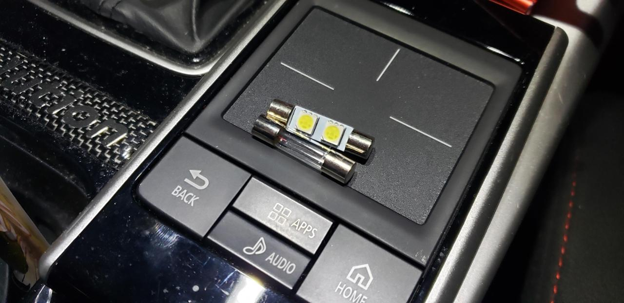 孫市屋 LEDバニティランプ T6.3x31mm