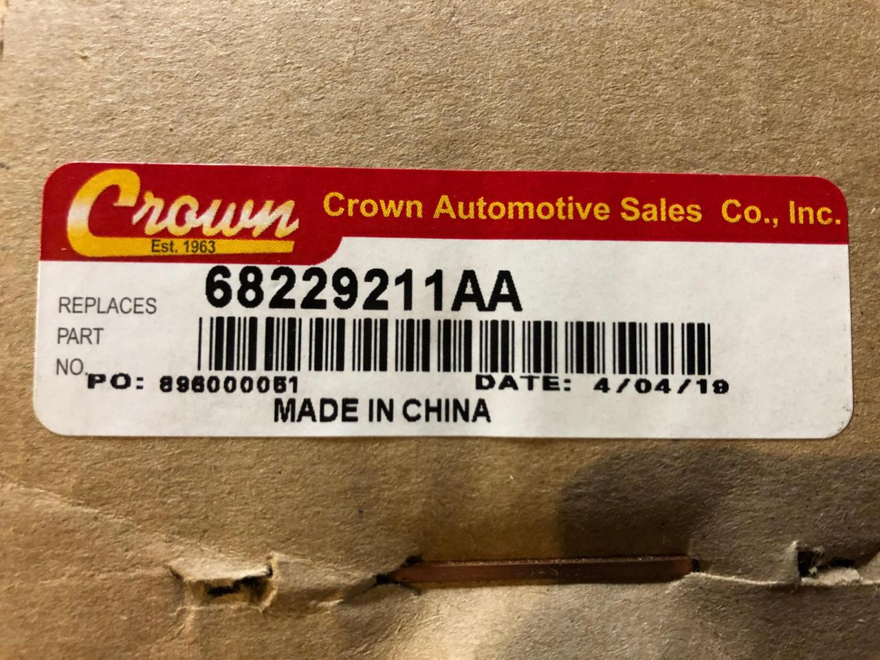 CROWN Front Drive Shaft Boot