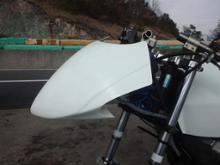 ブルターレ800ドラッグスターM-DESIGN NS50F用ゼッケンカウルの単体画像