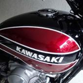 カワサキ W3カラー 燃料タンク W650/W400