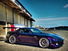 RX-7YOKOHAMA ADVAN Racing RS-DF PROGRESSIVEの全体画像