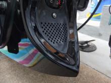 ソフテイル FXS ブラックラインRebacker チンスポイラーの単体画像