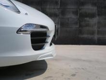 911 カブリオレポルシェ(純正) スポーツシャーシ用フロントリップスポイラー/991-505-525-01-1E0の全体画像