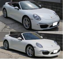 911 カブリオレポルシェ(純正) スポーツシャーシ用フロントリップスポイラー/991-505-525-01-1E0の単体画像