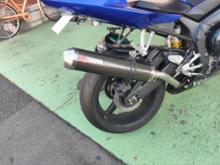 YZF-R1Scorpion Exhausts 不明の単体画像