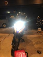 Vストローム650XTSPHERE LIGHT スフィアライト バイク用 スフィアLED RIZINGの単体画像
