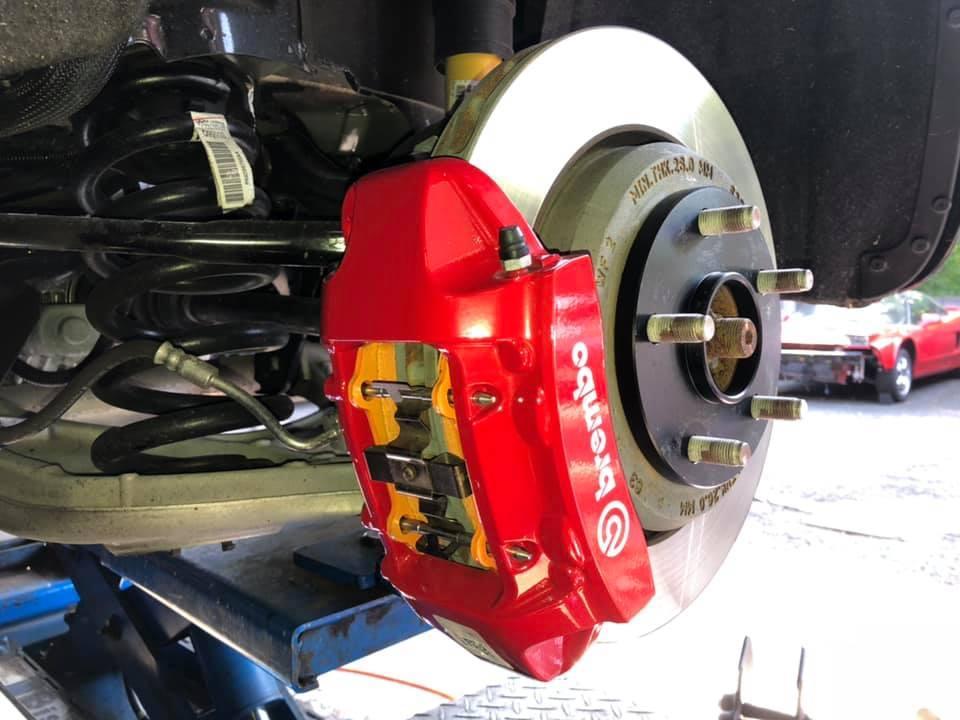 KSP engineering 低ダスト高性能ブレーキパッド D-LESSⅡ JeepグランドチェロキーSRT8 リア4POT専用品 KS-90311