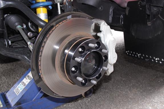 KSP engineering REAL TOYOTA用 Wide Tread Spaacer 25mm 139.7-6H KS-592520