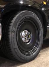 タホDetroit Steel Wheel CO. Bolt-On Caps [5×5LugDELRAY]の単体画像