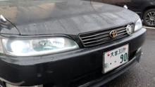 マークII自作 トヨタ純正コイトヘッドライト自作加工品の全体画像