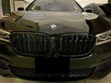 7シリーズ プラグインハイブリッド海外産 M風ブラックキドニーグリルの単体画像