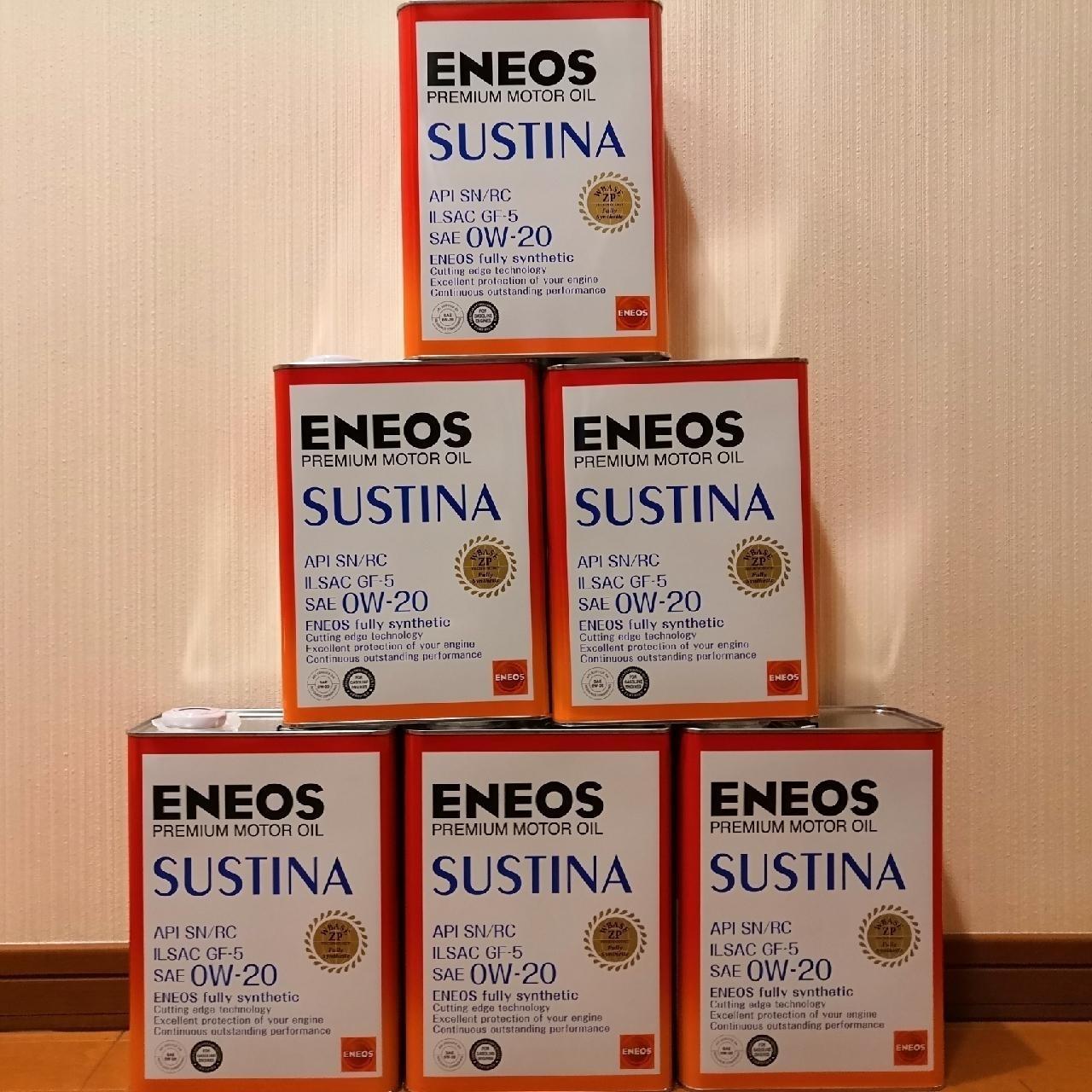ENEOS SUSTINA サスティナ 0W-20