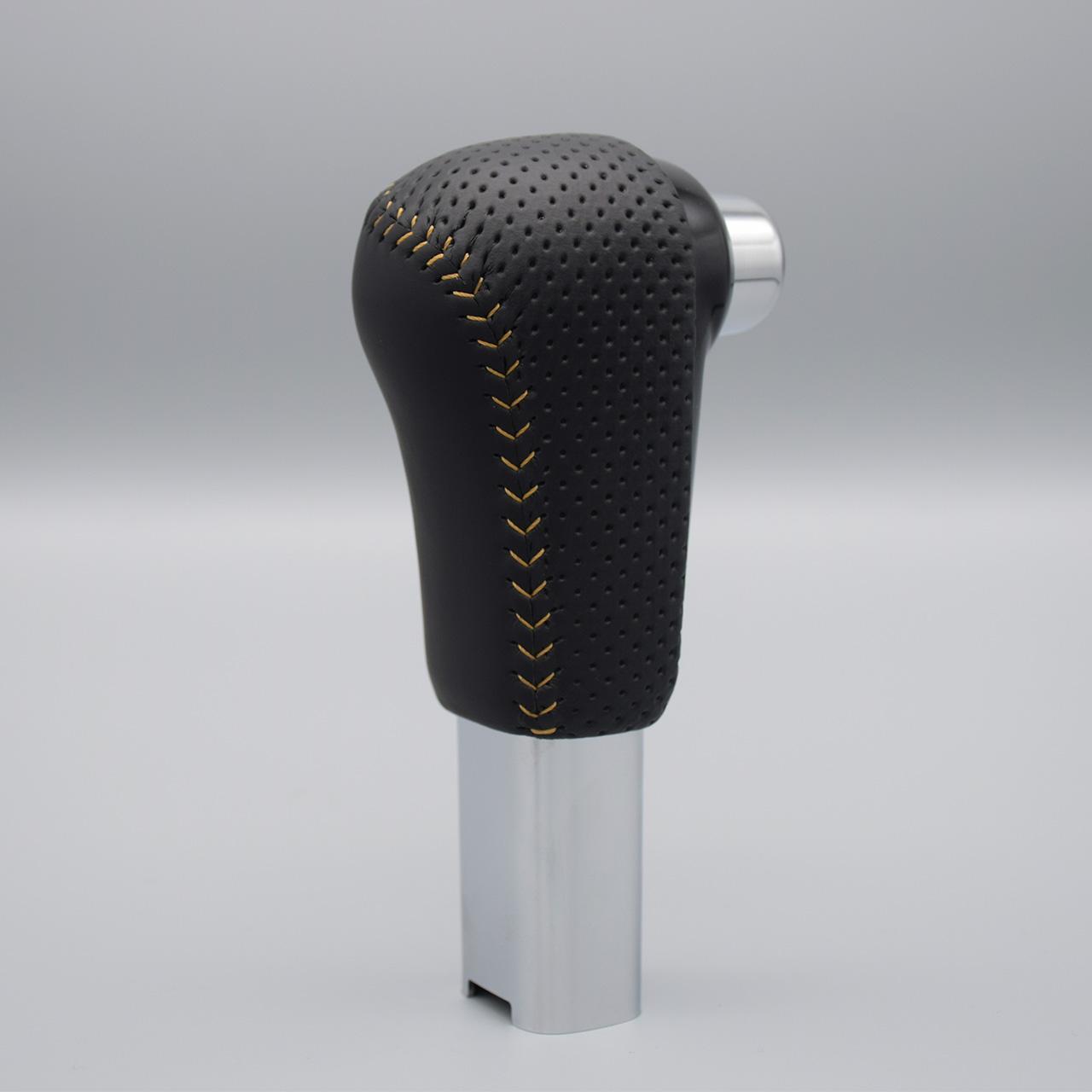 Leather Custom FIRST N-VAN純正シフトノブ革巻き加工
