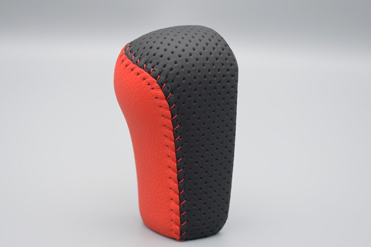 Leather Custom FIRST N-ONE純正シフトノブ革巻き加工