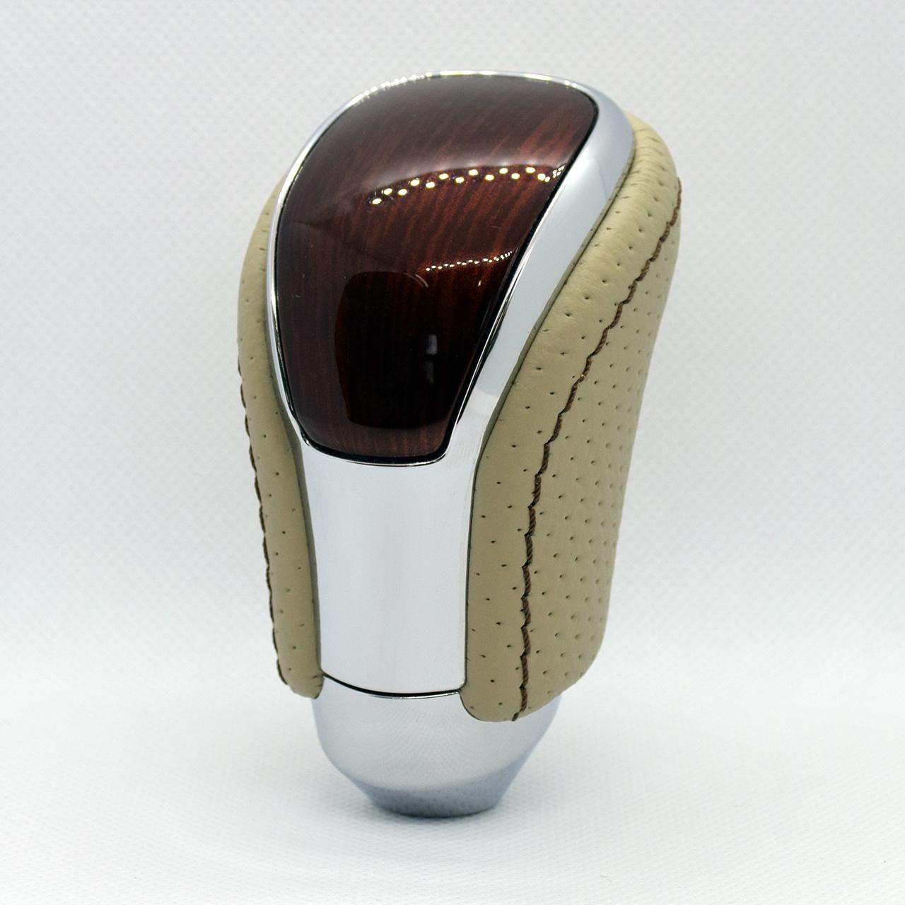 Leather Custom FIRST 純正シフトノブ本革巻き加工