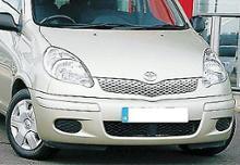 ファンカーゴトヨタ(純正) ヤリス ヴァーソ 純正 EUR仕様 フロントスポイラーの全体画像
