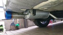 レガシィ ランカスタースバル(純正) GT用マフラーの全体画像