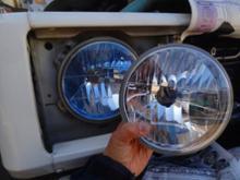 ジムニー 1300RAYBRIG / スタンレー電気 マルチリフレクターヘッドランプ ブルーの全体画像