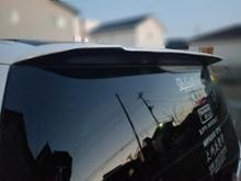 エリシオンプレステージModulo / Honda Access リアスポイラーの単体画像