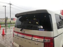 デリカD:5三菱自動車(純正) テールゲートスポイラーの全体画像