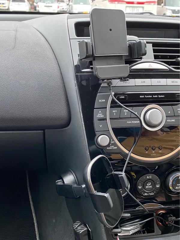 AUTOBACS ワイヤレス充電スマートフォンホルダー アームキャッチ(エアコン取付タイプ) SHC-01
