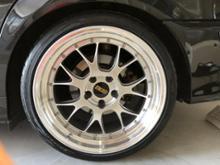 5シリーズ セダンBBS LM-Rの全体画像
