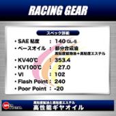 SPEED MASTER RACING GEAR 140