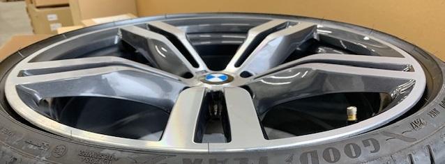 BMW(純正) フロント用 8.5J  ダブルスポークスタイリング648M