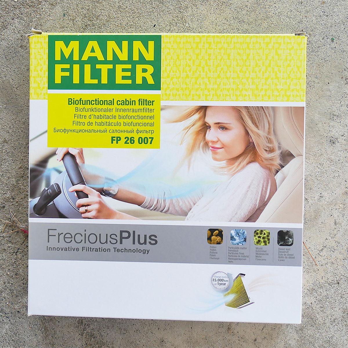 Mann Filter FP 26 007 Filter