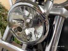 ダイナ ストリートボブSeuya ハーレー用ヘッドライトの全体画像